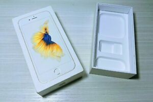 Gold Apple iPhone 6s 6 S 64 GB Retail Empty Box MKR12LL/A A1688 16gb