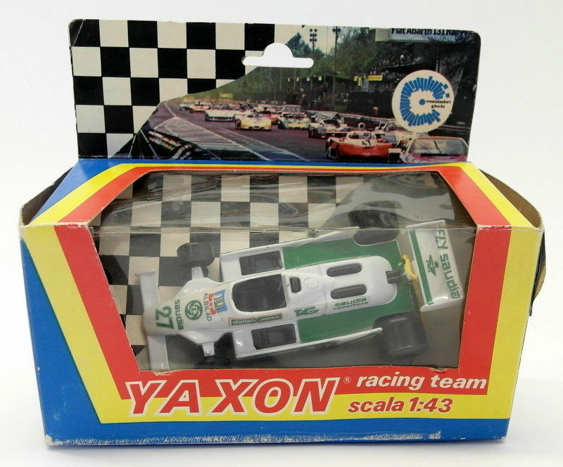 Yaxon 1 43 scale Vintage diecast - FW07 Williams FW 07 F1