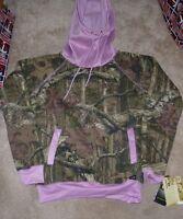 Yukon Gear Funnel Hoodie Hooded Sweatshirt Women Ladies S Pink Camo
