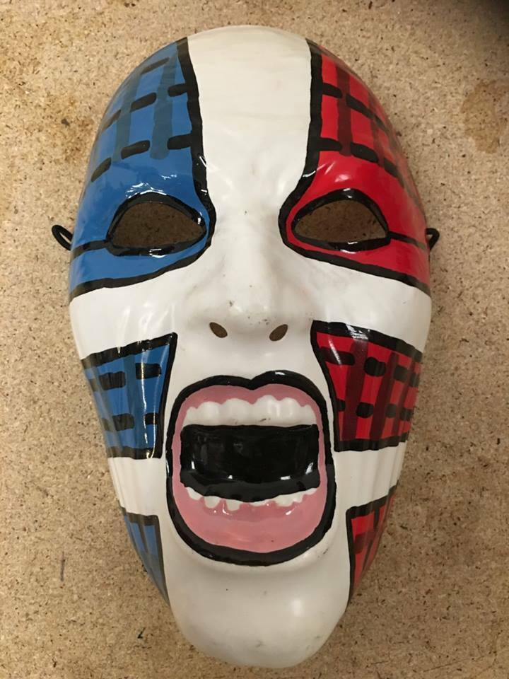 UK JEFF HARDY BOYS WRESTLING WWE HALLOWEEN HALLOWEEN HALLOWEEN MASK FANCY DRESS ADULT COSPLAY UP 2 08069f