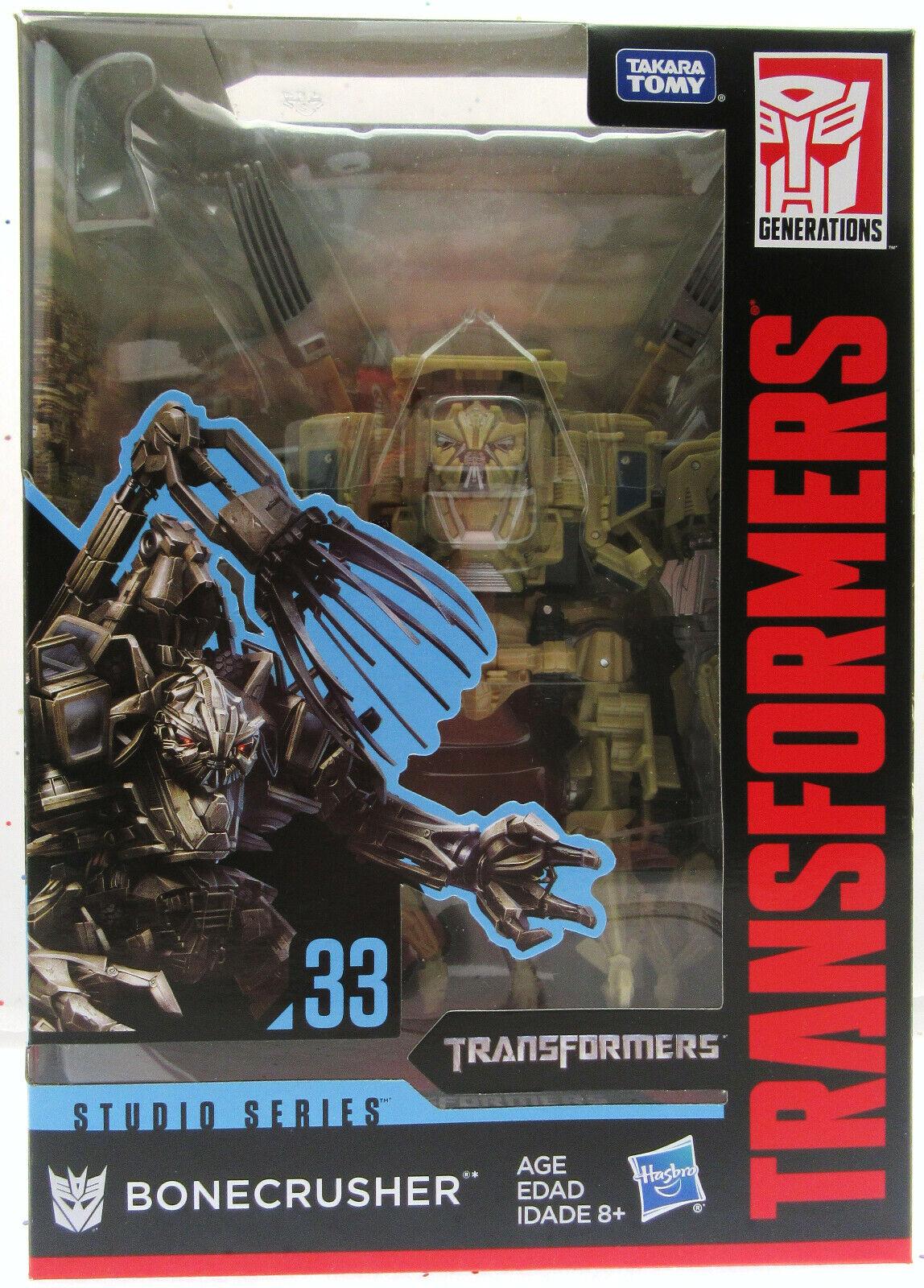 Transformers Bonecrusher 33 Studio Serie Decepticon Hasbro