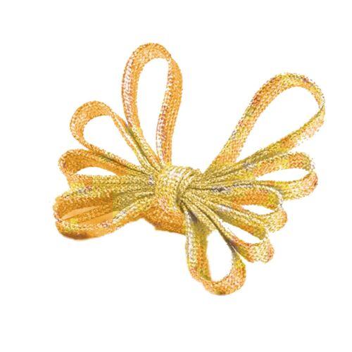 Schnürsenkel Glitzer Schnürbänder Flachsenkel Schuhbänder Glitter Gold