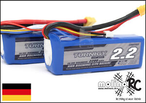 2x-Turnigy-2200mAh-3S-20C-30C-NEU-POWER-3S-XT60-Lipo-Akku-11-1V-2-Stueck