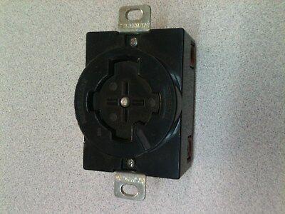 Hubbell 3765C 50 Amp 600 Volt AC 3 Pole 4 Wire Twist lock Plug *** SALE ***