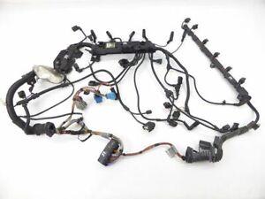 BMW-5er-E61-E60-Bj03-10-530xd-530d-M57N2-6-Gang-Schaltgetriebe-Motorkabelbaum