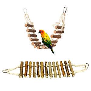 Bird-Toys-Step-Parrot-Ladder-Wood-Swing-Bridge-Bird-Cage-Accessories-Decorative