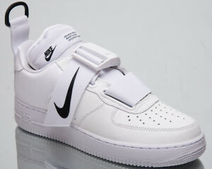 Details about Nike Air Force 1 Low Utility Men's New White Black Lifestyle Sneakers AO1531 101