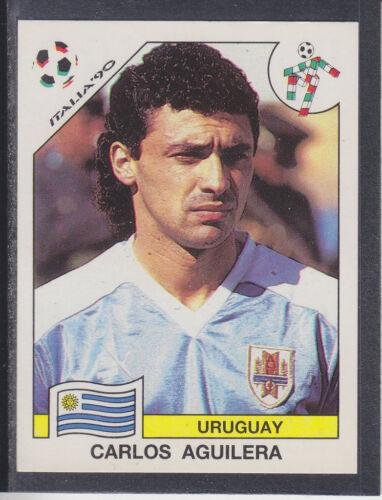 # 381 CARLOS AGUILERA-Uruguay PANINI-italia 90 coupe du monde