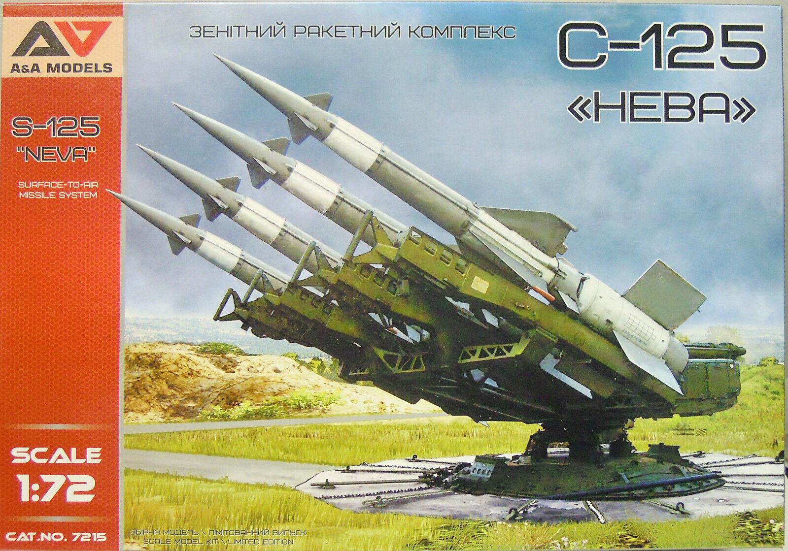 S-125  Newa  ,Flugabwehrraketensystem,A&a Modelos,Equipo Construcción Plástico,1