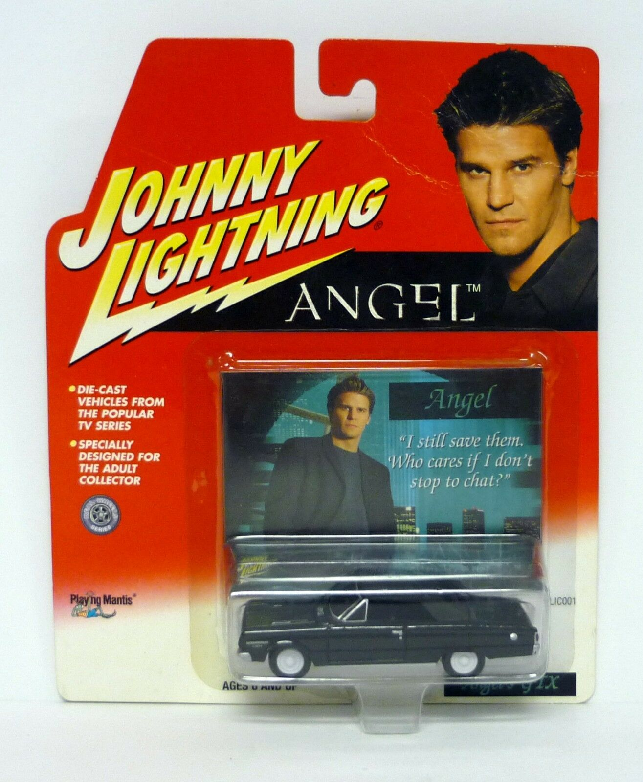 JOHNNY Lightning ANGEL'S GTX Die-Cast Car White Lightning MOC 2000