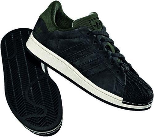 adidas SUPERSTAR 2 K 652489 Originals Sneaker noir / noir /fango 36 37 38