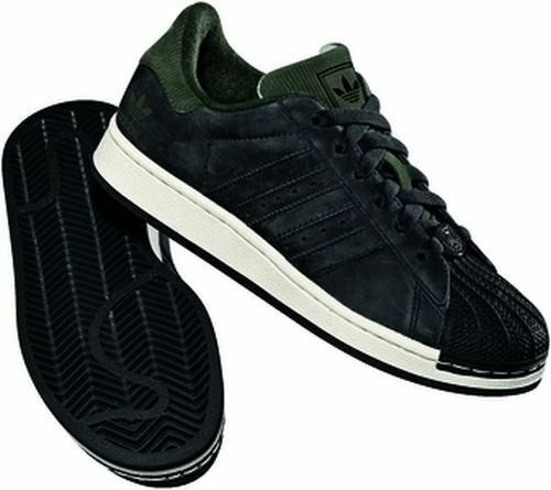 Adidas Superstar 2 K 652489 37 Originals cortos Negro/Negro/caído 36 37 652489 38 579042