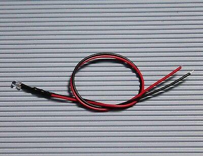 10 Stück LED Tower 2mm Rot Klar Verkabelt 6-12V C3610 Modellbau Hobby Beruf