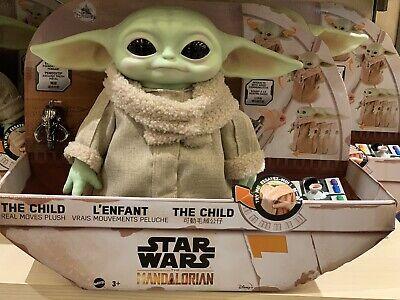 Star Wars The Child Real Moves Plush The Mandalorian The Mandalorian Lithograph