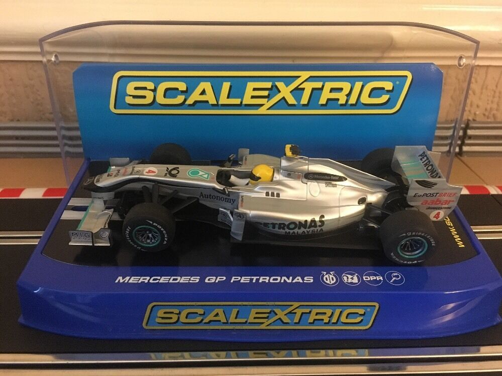 Scalextric Mercedes GP Petronas Rosberg No4 C3147 Car Mint & Unused