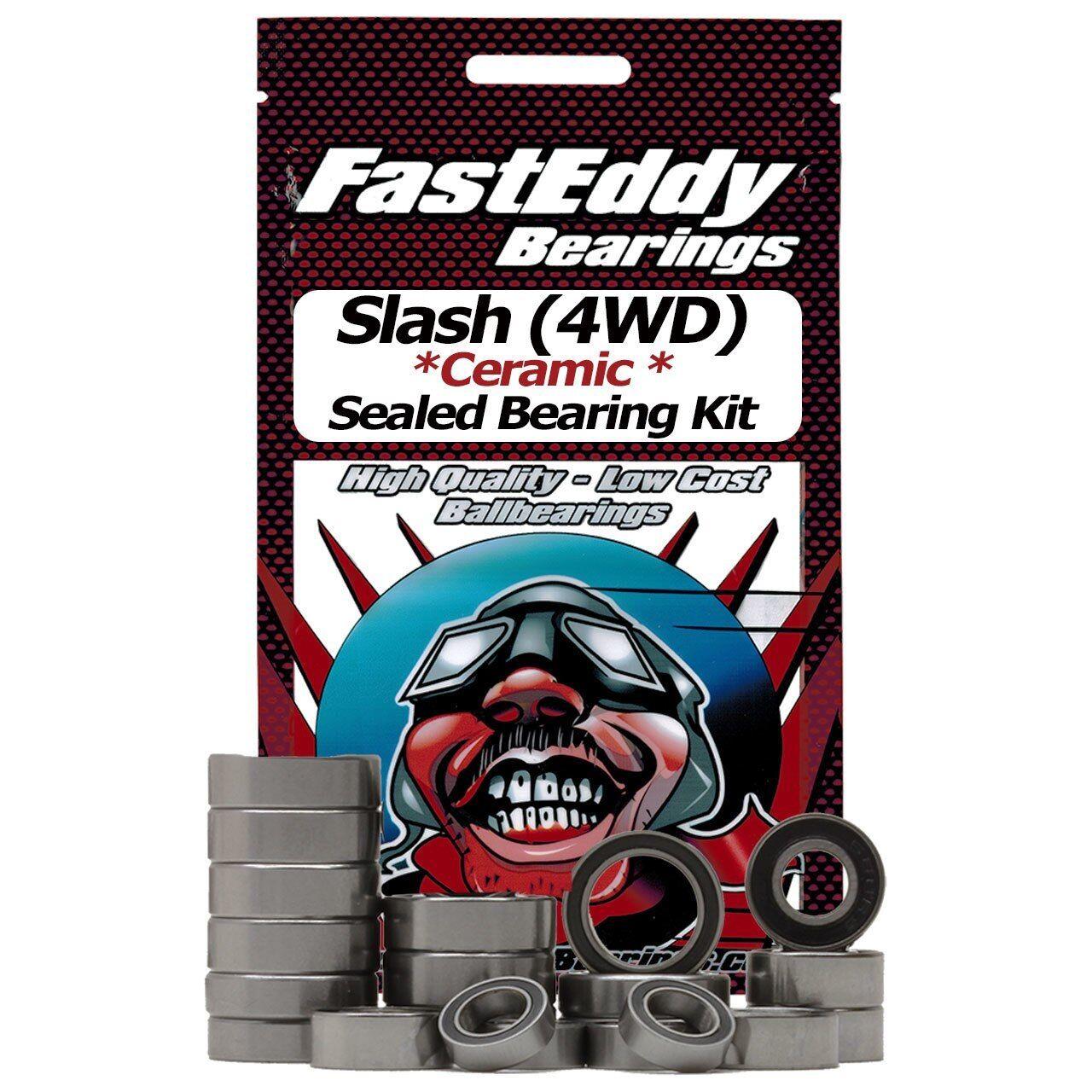 Squadra FastEddy  Fast Eddy Traxxas Slash (4WD) Ceramic Sealed orsoing Kit  consegna e reso gratuiti