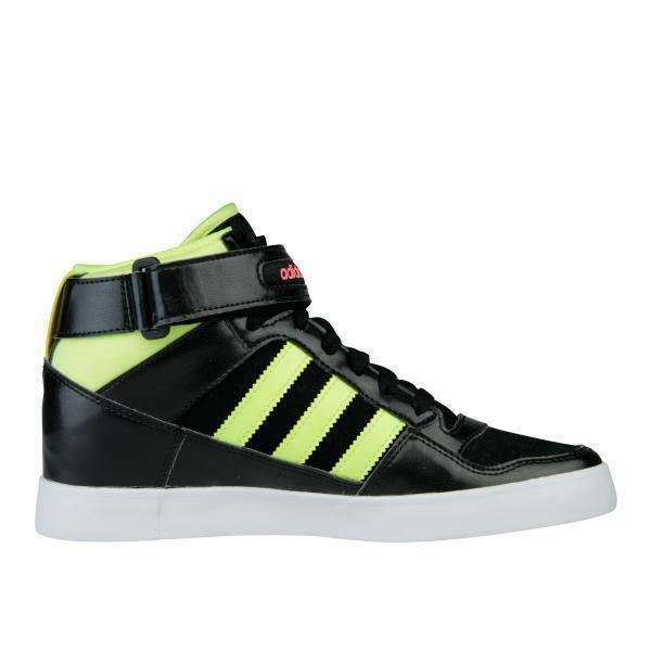 Adidas Femmes Forum Up W Hi Talon Noir Citron Baskets M22266