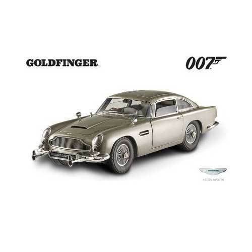 18 hot wheels - aston martin db5 - james bond - Goldfinger