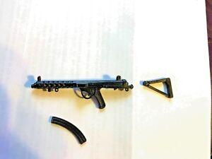 1970/'S ACTION MAN STERLING SUB MACHINE GUN W// STRAP PALITOY VINTAGE