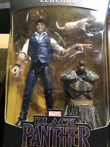 Marvel Legends Black Panther Wave 2 M/'Baku BAF Series Ulysses Klaw// Klaue FIGURE