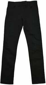 Acne-Regular-Womens-Slim-Fit-Jeans-Size-31-34-Black-Zipper-Fly-Denim-Mid-Rise