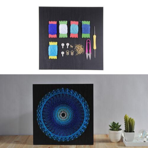Bird Nest Nail String Art Crafts Kit for Boys Girls DIY Geometric Painting