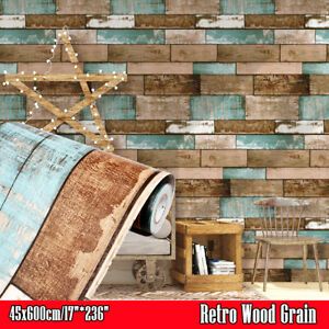 3D-Wood-Grain-Peel-and-Stick-Wallpaper-Vinyl-Self-Adhesive-Stickers-Retro-Decor