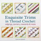 Exquisite Trims in Thread Crochet: Edgings, Corners, Crescents & More by Caitlin Sainio (Paperback, 2013)