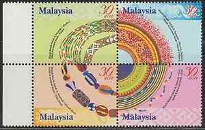 272-MALAYSIA-2001-SABAH-amp-SARAWAK-BEADS-SET-FRESH-MNH