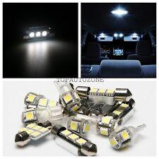 10 x Xenon White Led Light Interior Package Kit 2007-2014 For Hyundai Veracruz