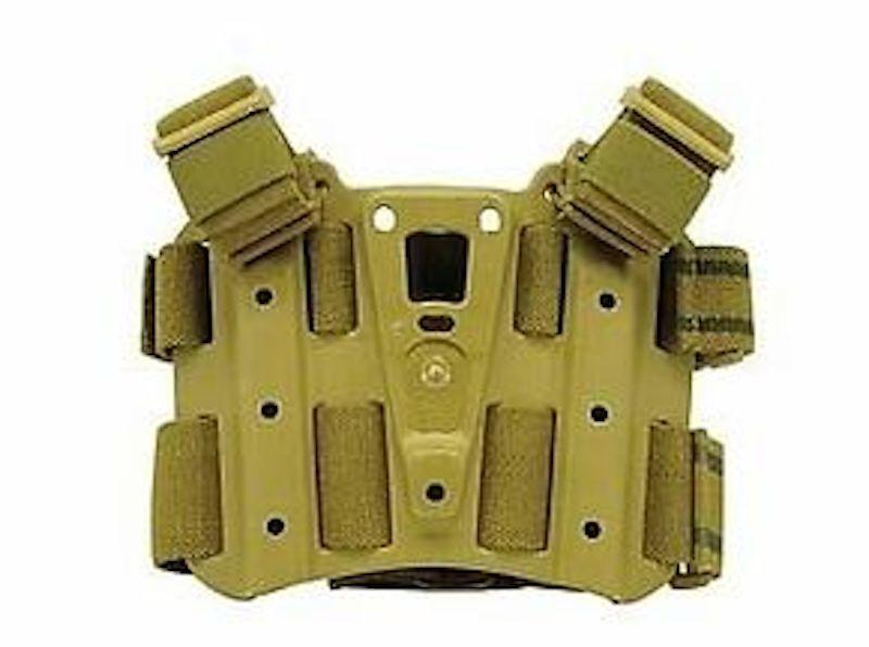 Genuine Platform Blackhawk Coyote Tan Dropleg CQC Serpa Tactical Holster Platform Genuine 432000P a5f439