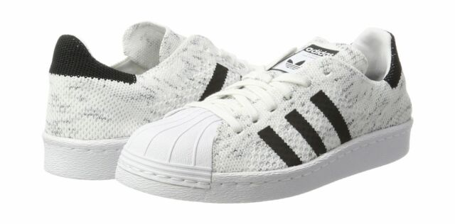the latest f0e25 493c8 adidas Superstar 80s Primeknit Shoes Women's White Running White 11