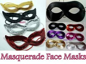 BLACK-MASQUERADE-DOMINO-SEQUIN-FACE-EYE-MASK-COSTUME-HEN-PARTY-FANCY-DRESS-NEW