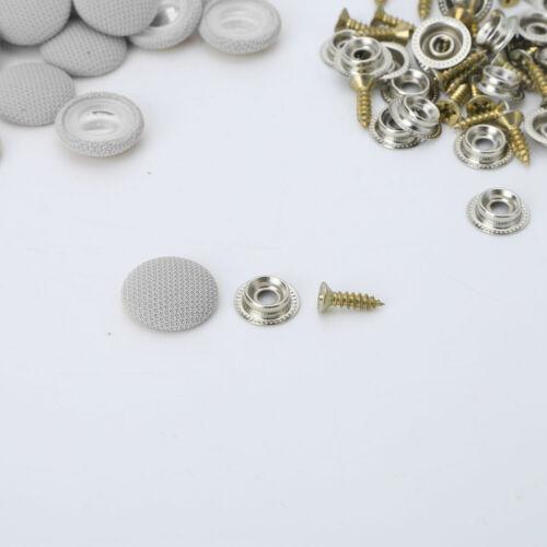 30 Car Roof Snap Rivets Buckle Automotive Headliner Repair Button w//Screw 20mm