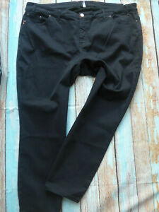 Sheego-Jeans-Trousers-Power-Stretch-Black-Ladies-Size-46-to-58-plus-Size-527