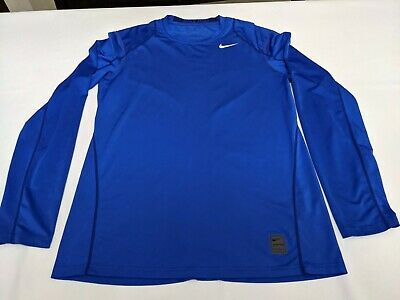 NWT S-M-L-XL-2-3XL Nike Pro Cool Fitted Long-Sleeve DriFIT Layering Training Tee