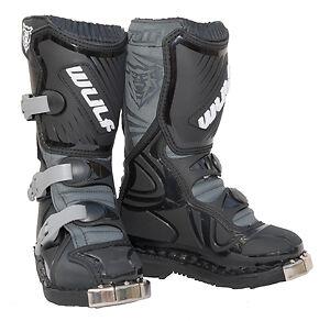 Kids-MX-Motorcross-Motorbike-ChildrensWulf-Boot-Wulfsport-LA-MX-Quad-Boots-T