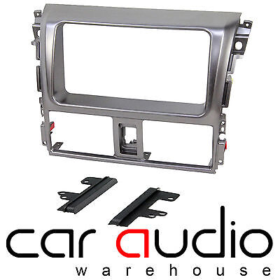 Connects2 CT24TY22 Toyota Yaris 2007 On Car Stereo Double Din Fascia Plate Panel