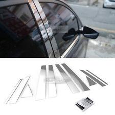 Stainless Steel Chrome Window Pillar Molding 10P For HYUNDAI 2013-2017 Santa Fe