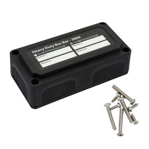 2 Stück Hochleistungs Sammelschiene Verteilerkasten /& Schraubdeckel   300A