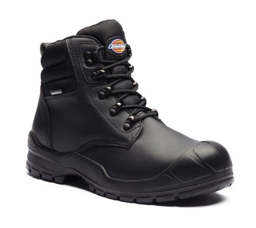 Dickies Trenton Safety Work Boots Black FA9007 3-14 Scuffcap Toecap /& Midsole