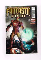 FANTASTIC FOUR (V4) #6 Ltd 1:20 Iron Man variant by Karl Kerschl! NM