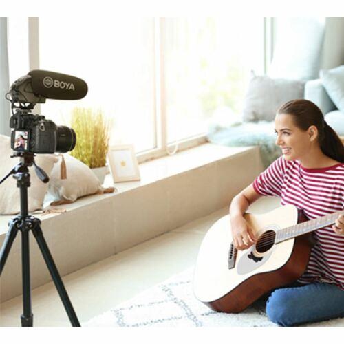 Boya BY-BM3031 Pro 3.5mm Enchufe micrófono escopeta en la cámara de vídeo