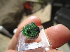 7.45 carat deep green tsavorite garnet