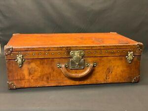 Grand-Louis-Vuitton-Leather-Hide-1920-S-valise-coffre