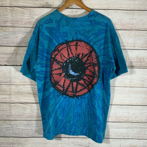 Vtg 1992 The Cure Wish Tour All Over Print Shirt … - image 1