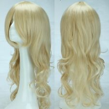 80cm Curly Straight Wavy Long Heat Resistant Women Anime Halloween Cosplay Wig