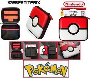 Housse Universel Nintendo Ds Lite Ds 2ds 3ds Xl Pokéball Edition Officiel Neuf Ebay