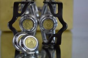 Dust-caps-for-Vintage-campagnolo-50th-anniversary-pedals-NEW-super-record