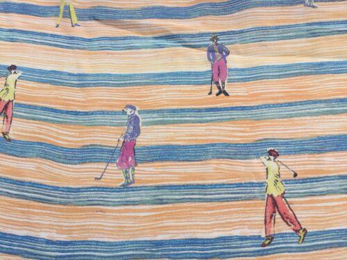 "Womenswear /""Vintage GOLF/"" Crêpe Viscose Tissu 100/% robe en tissu par mètre"